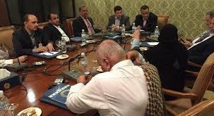 الوفد الوطني يرفض الاعتراف بحكومة بن دغر و وفد المرتزقة يعرضون البقاء في مناصبهم في حال الاتفاق